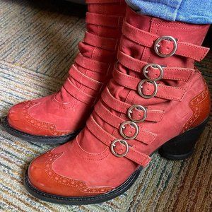 East End Multi Strap Ankle boot